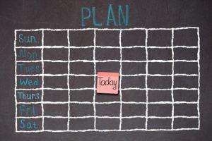 Come pianificare lo studio