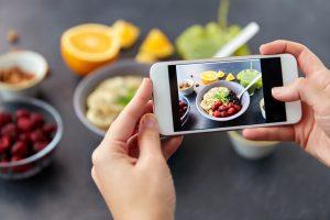 come fotografare il cibo smartphone